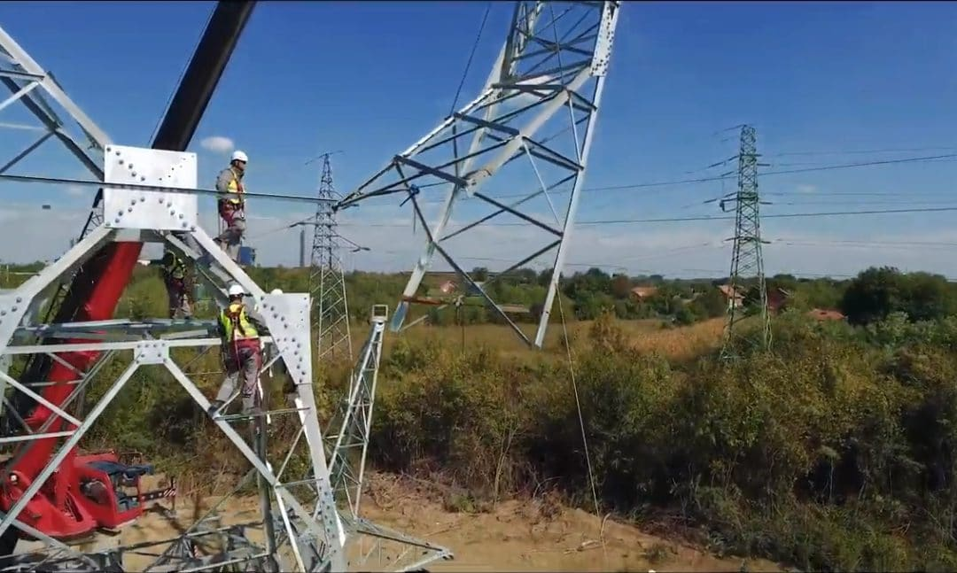 "400 kV Power Line ""Beograd 8 – Drmno"" Substation – Connection to the ""Smederevo 3"" Substation"