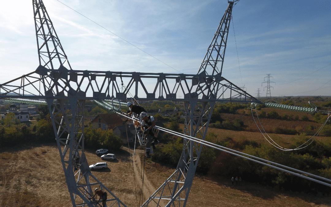 Der Bau des Transbalkan-Korridors durch Serbien hat begonnen – 400 kV Übertragungsleitung vom Umspannwerk Kragujevac 2 bis zum Umspannwerk Kraljevo 3